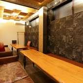 宴会にも利用しやすい、2~15名様まで入室できる個室