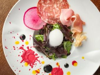 和の食材でイタリアンを表現する
