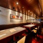 オシャレでスタイリッシュな中国料理店