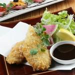 【梅田駅1分 個室 居酒屋】ゆったり3時間飲み放題付!上品な和風創作料理が心なごみます。