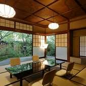 美しい庭園を眺め、日本建築の素晴らしさにひたる全7室