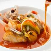 本日の鮮魚で作る『ブイヤベース』