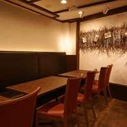 仕事帰りなど気軽に立ち寄れ、職場の仲間同士や少人数での食事にぴったりのお店です。秋田の食材を贅沢に使ったイタリアンと、食事によく合う選び抜かれたワイン。会話も弾み楽しいひとときが過ごせます。