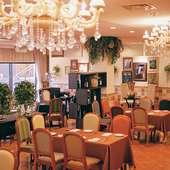 感染症対策も◎広々としたレストラン空間