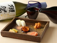 とりあえずこれと日本酒さえあれば、の『前菜盛り合わせ』