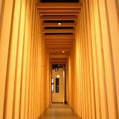高崎エリアで話題の有名デザイナー監修のPrivate個室