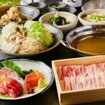人気の低温調理の牛刺し種や、大山鶏の唐揚げ、和牛三角バラ塩ステーキなど、こだわり肉料理が目白押し!!