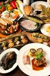 豚バル名物 新潟県産和豚もち豚肩ロース肉&松坂豚のボルケーノフランベ食べ比べ