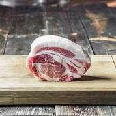 ブランド豚を豪快に「塊肉」でご提供