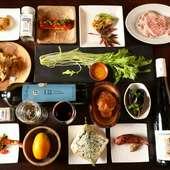 塊で味わう色々な豚肉や素材の味を引き出す調味料・ドレッシング