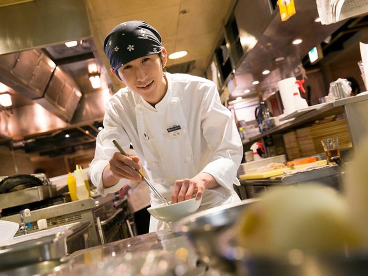 お客様目線で、調理とサービスを