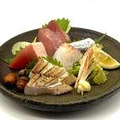 カツオの松葉焼きたたき  塩 or ポン酢