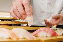 ビュッフェイベント限定、人気の握り寿司ビュッフェ。