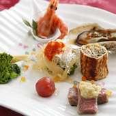「ヌーヴェル・キュイジーヌ・シノワーズ」は美しい一皿が特徴