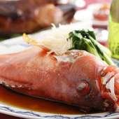 旬の新鮮な魚介を使った『本日の鮮魚』は素材の旨みが際立つ、格別な味わい