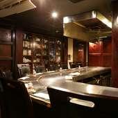 贅沢なディナーコースは、西新宿での接待や会食にぴったり