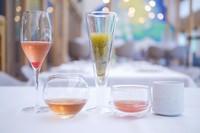 3種1800円/5種3000円 ル・ピオニエがおすすめするノンアルコールのコースです。