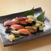 日替わりの寿司を味わえる『大将おすすめ握り』