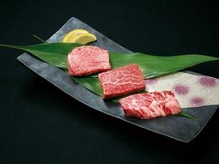 ステーキのような食感が楽しめる『極厚盛り』