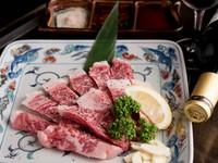 和牛をたっぷり、5品食べられるコース