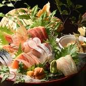 その日のおすすめ鮮魚を盛りだくさん味わえる『函館山』