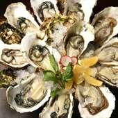 『牡蠣山』は牡蠣好きにはたまらないリーズナブルなメニュー