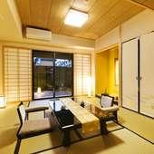 完全個室のお座敷は、接待や会食、商談の場に相応しい