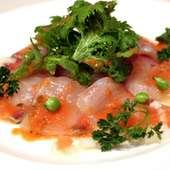 *鮮魚のカルパッチョ