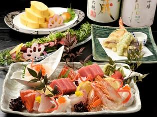 四季折々の旬魚や京野菜、三重の食材を京料理に集約