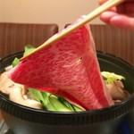 最高級和牛・伊萬里肉(佐賀産)A5サーロインスライスを焼きしゃぶ・すき焼・しゃぶしゃぶ・炙り寿司で
