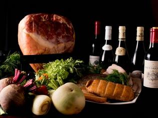 新鮮な魚介と野菜で、旬の美味しさと季節を感じて欲しい