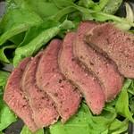 お任せの蕎麦前~〆のお蕎麦まで 信州のジビエ「鹿」がメインディッシュのコースです