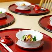 料理人の妙技が光る、目にも鮮やか『会席料理』