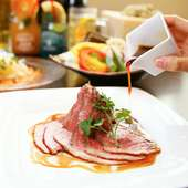 歓送迎会でもKICHIRIを。豪華な食材が入ったコースもご用意。