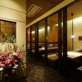 くつろげる雰囲気の中でCPの高い和食料理を楽しめる居酒屋