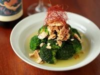 ガーリックオイルがけの温野菜