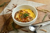 ◆枝豆とコーンのまぜご飯 ◆お供三種 ◆柚子ジュース ◆ベーコンポテトサラダ ◆カボチャのポタージュスープ ◆季節のメイン(2種)お料理