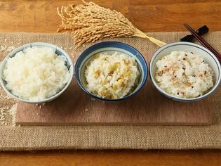 1位2位を争う米粒の大きさ! ほんのり飴色の「ハツシモ」のご飯