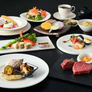 ※表記価格には消費税10%が含まれております ※季節によって食材が異なる場合がございます
