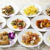 料理には、地元淡路島産の新鮮食材を中心に使用