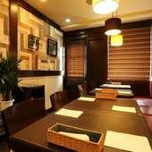 居心地の良い空間で、美味しい料理を楽しんでほしい