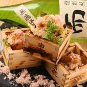 蟹肉をふんだんに使った『カニクリームコロッケ』は【海鮮居酒屋 海ごころ】ならではの仕上がり