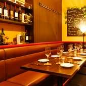 会話を楽しむ会食に、心地良い空間で充実したひとときを満喫