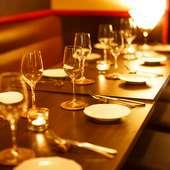 会話を楽しみたい会食に。料理とワインで充実したひとときを