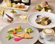 女性同士のお集まりにもぴったりなプランです!旬を楽しむ、彩り豊かな見た目も楽しいイタリアン。