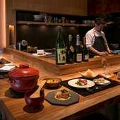 しっとりと日本料理を楽しめる、大人の隠れ家のようなお店