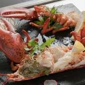 沖縄の食材を知り尽くしたシェフが仕入れる島野菜や魚介類