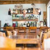 スイーツや料理、お酒を心から楽しんでもらうための空間づくり