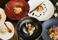 「至福の美食体験」コース3種。ソムリエールがコーディネートするワインのマリアージュセットとともに