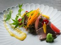 複雑な味わいを醸す店の代表料理『近江牛のぬか漬け』